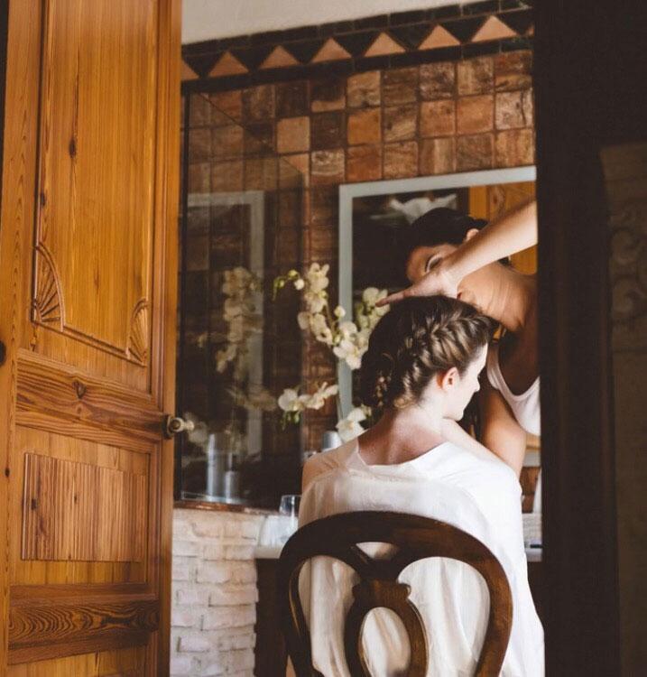 Peinado de novia en Dénia