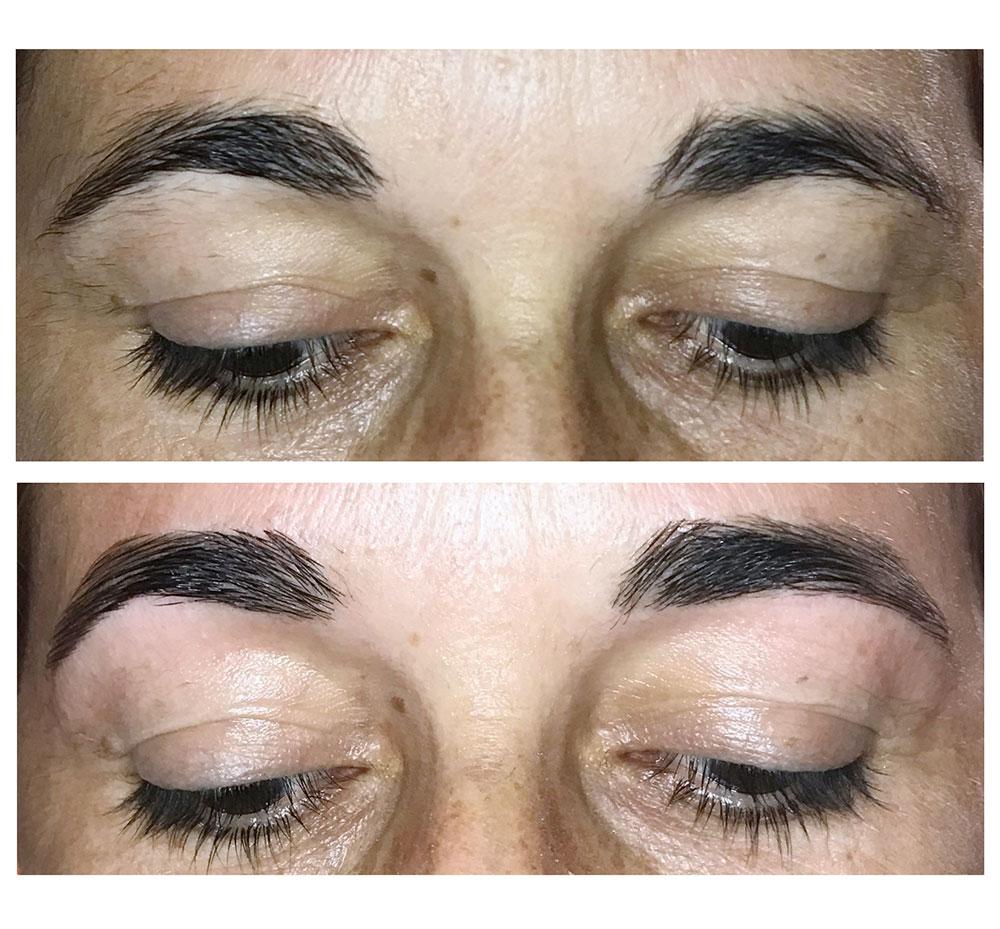 Diseño de cejas. Antes y después. - Paulaiborra.com